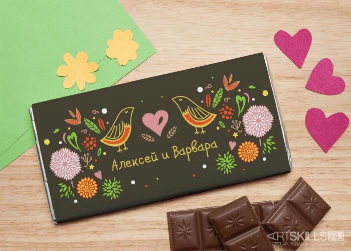 сопок, как делается шоколадная открытка крем категория