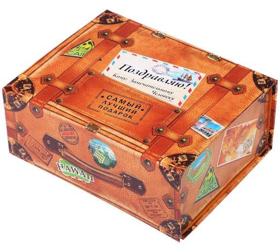 Поздравления с днем рождения к подарку чемодан