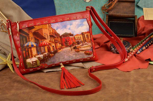 Dolce Gabbana Клатч с Принтом - Купить в Интернет