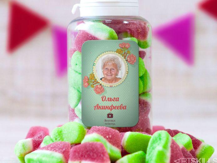 Вкусный подарок для бабушки