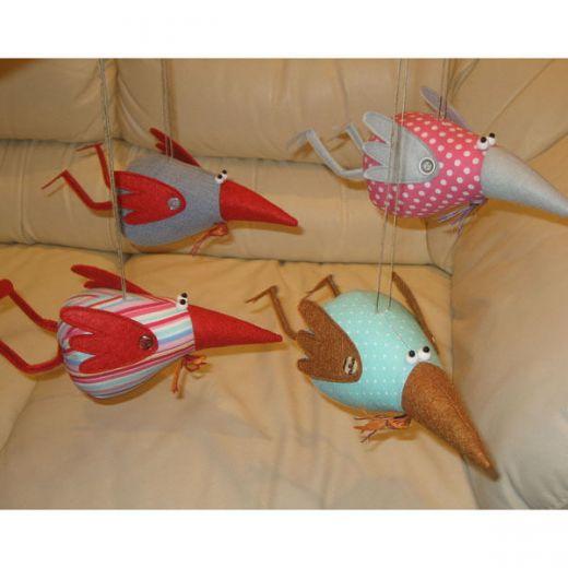Поделки своими руками из птиц из ткани